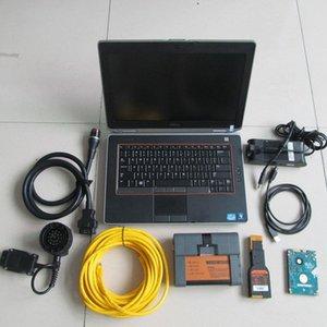 for bmw diagnostic for bmw icom a2 b c+ laptop E6420 i5 4g hdd 500gb expert mode windows system xUMA#