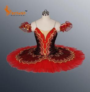 Красный Пахита Классический Профессиональный балет Tutus BT640 Royal Professional Балетная пачка Черный Туту