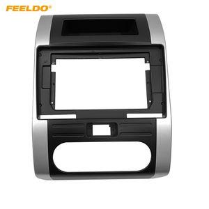 "FEELDO Car Radio Audio 10.1"" Big Screen 2DIN Fascia Frame Adapter For Nissan X-Trail CD DVD Player Dash Fitting Panel Frame Kit #1896"