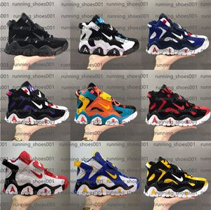 High quality Nike Air Barrage Mid Uptempo QS casual shoes scottie Air Pippen 2.0 casual shoes men fashiong walking classical sport sneakers