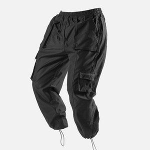 Bekleidung Männer Sports Hosen Militärstil Arbeit Schwarze Taschen Günstige Gebrauchte Sechs 6-Taschen Mens Cargo Pants