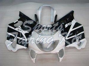 Los carenados de plástico para CBR F4 1999-2000 Kits de cuerpo completo Negro Blanco CBR 600 2000 carenado kits CBR F4 2000