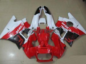 Carenature Kit + regali per Honda CBR600 F2 1991 1992 1993 1994 CBR600 91 92 93 94 CBR600 F2 copertura 91-94 corpo + parabrezza # 54RE7 #red BIANCO
