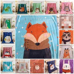 hot Baby blanket cartoon children's fluffy throw Blanket soft skin friendly baby cartoon Blankets 100 * 140cm Home Textiles T2I51156 Ux8q#