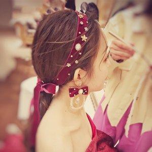 vêtements toast mariée vin chinois rouge cheveux b coiffure bande coiffure Vêtements cheveux beauté fée simple accessoires mariage super fée acc