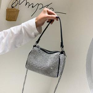 Rosa Sugao 2020 neue Art und Weise Handtaschen-Frauen-Schulter-Beutel Drei Stile Taschen Bucket Bag Waist Taschen Kissen Taschen mit Diamant-Dame-Geldbeutel BH 5L4Y #