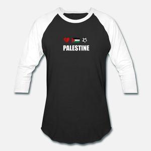 Palestina Football Shirt Palestina de Futebol Jersey camisetas homens criam manga curta em torno do pescoço fino gráfico confortável Primavera Outono Vintage