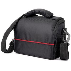 Waterproof Camera Case Bag for Sony Alpha A6400 A9 A7 A7S Mark II III FDR AX100 AX55 AX53 AX33 HX400 HX350 YI M1 YI 4K Lens Bag