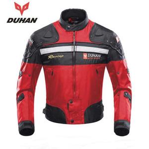 DUHAN Sonbahar Kış Windproof Oxford kumaş Motosiklet Yarışı Ceket Motosiklet Binme Ekipmanları Ceket Moto Koruma Giyim