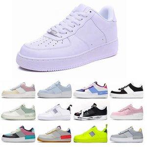 nike air force 1 Flyknit Utility 2020 New Skate Sapatos Mens tênis para homens, mulheres Uma Utility Pacote baixos Sports tênis Mens Trainers Air 1 Zapatillas US36-46 C6