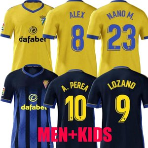 2020 2021 Cadice calcio maglie Cádiz CF camisetas de futbol 20 21 LOZANO ALEX magliette di calcio Bodiger Juan Cala CAMISETA A LIGA MEN + KIDS