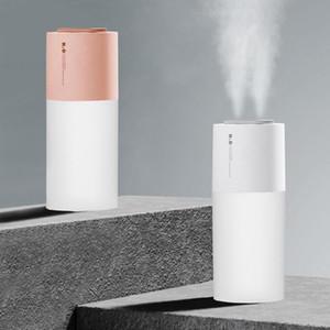 Dual Spray Jet-Luft-Befeuchter 400 ml Nebel-Düse Air Beschlagen Cooler USB Neuladen Purifier Ölerfrischungsmittel für Auto Home Use