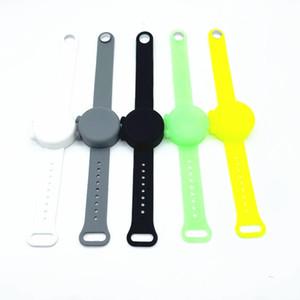 10 colori della rapida braccialetto in silicone Braccialetti in silicone Delievery Sanitiser con Bracciale Silicone Gel Igienizzante con