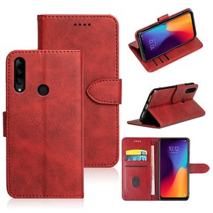 Cover TPU black soft silicone For Lenovo K10 Plus Leather Flip Wallet Phone Case
