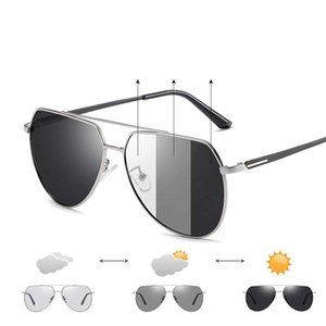 New sunglasses men designer metal vintage sunglasses fashion style square frameless lens TAC with original case
