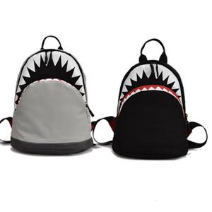 nuovi 2021 della stampa del fumetto Borse Baby Girl Zaini Kid Zaino Shark School Book Bag studenti delle ragazze del ragazzo zaino regalo