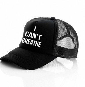 Non riesco a respirare cappello nero VIVE MATERIA, giustizia per il cappello del sole George Floyd del cappello di Snapback Uomini Baseball Cap LJJK2159 2zWH #