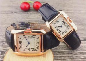 Хороший хороший новые часы класса люкс серебро моды стали женщины людей вахты нержавеющей WristWatch мужской дизайнер Часы любовники часы С-CARTIER-LOGO