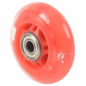 1 paio 8 millimetri Dia 608ZZ cuscinetto Inline Skating Scooter Skate Wheel Red PpS5 #