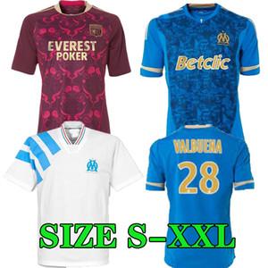 1992 1993 maillot de pie Marsella LYON om Jersey oL fútbol retro 99 00 10 11 12 PAPIN BOLI DESAILLY VOLLER las camisas del fútbol