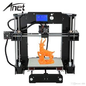 أنيت A6 3D طابعة كبيرة الحجم سطح المكتب كيت الطابعة شاشة LCD العرض مع بطاقة TF خارج خط الطباعة وظيفة I3 VB الطابعة DIY 3D