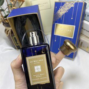 Perfume New Jo Malone Londres limitada Cologne Volvet Rose Oud Damasco Rose Romantic Crescent Céu estrelado azul Mirra Tonka Magnolia Fragrance