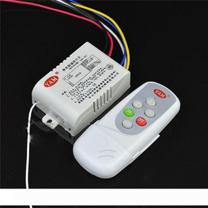 3 Ways 4 Sections Smart Digital Wireless Remote Control Switch AC110V AC220V Remote Controller for Light Lamp
