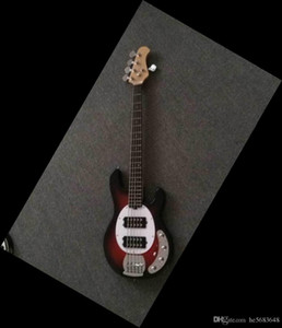 Free Shipping ! Wholesale custom new arrive music man Electric bass Guitar electric Guitar in red burst bass Guitar Musical instrument 15061