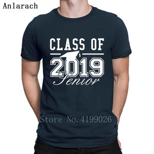 Class Of 2019 Senior Tshirts Novelty Spring Branded Print Authentic Men's Tshirt Summer Top Clothing Big Sizes Anlarach