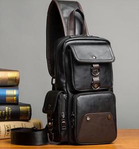 saco da cintura versão coreana homens casuais bolsos saco peito pequeno Japão e Coreia do Sul Mensageiro