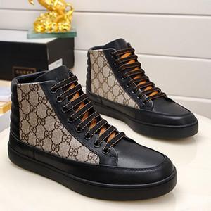 Лучшего качество Мода кроссовки Flats Mens Shoes Luxury Design Для мужчин Кожа Большого размера дышащего Дизайн Мужской обувь Тип способ Зимней распродажи