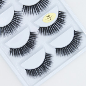 Los últimos 3d de belleza del cabello syntentic pestañas postizas empaquetar grueso y largo latigazo del ojo apoyo a la extensión al por mayor y personalizada