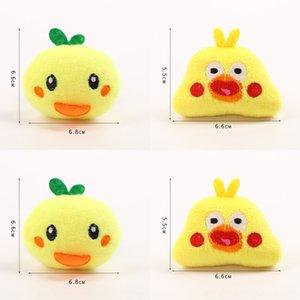 VAsgU Sıcak satış sevimli goo broş karikatür Diy Bie Zhen Pim giyim saç Ördek çocukların DIY tavuk aksesuarları peluş sırt çantası pim deco D6BPo
