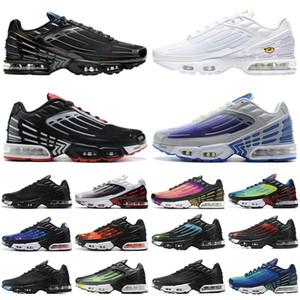 2020 air max airmax tn plus 3 vapormax vapor 2019 hombres mujeres zapatos para correr triple blanco iridiscente para hombre mujer zapatillas deportivas zapatillas deportivas