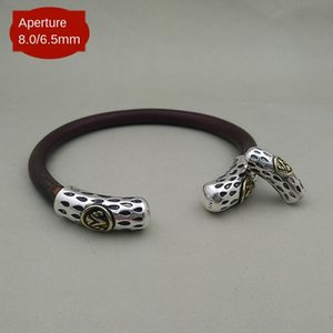 925 Sterling Silber Zubehör Shengshan Kessel Pullover Diamant-Rebe Pullover Armband Armband lange Kopfhülse