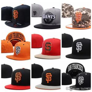 all'ingrosso lettera Giants SF berretti da baseball Gorras ossa della molla del cotone hip hop per la protezione di estate uomini donne misura i cappelli