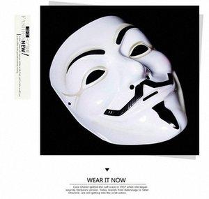 Neue Partei-Schablone Abendkleid-erwachsener Kostüm-Zusatz Mascaras Halloween Der V für Vendetta-Partei Cosplay Masque Pappmaché Masken Papier 1z7s #