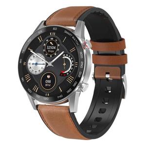 DT95 Smart Watch Bluetooth Anruf IP68 Wasserdichte EKG Wärmequote 1.3inch IPS 360 * 360 Bildschirm Alarm Sleep Smartwatch Business Sports Band