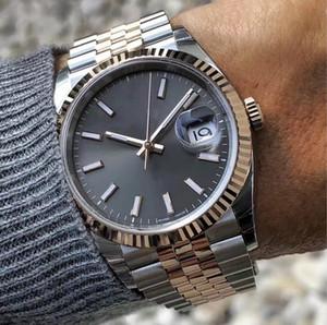 Yeni Erkek İzle 2813 Mekanik Otomatik Hareket 41mm Paslanmaz Çelik Saatler Moda Erkekler Datejust Tasarımcı Kol saatı