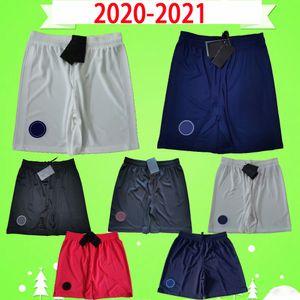 2020 2021 psg futbol şortu 20 21 üçüncü beyaz ev mavi uzakta turuncu paris futbol pantolon maillots de ayak MBAPPE CAVANI futbol forması