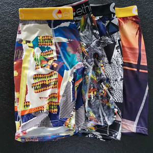 Disponibile Ethika pugili della biancheria intima Shorts Mens Sport floreale Skateboard Street Fashion Streched Leggings Shorts lungo tratto Shorts retrò