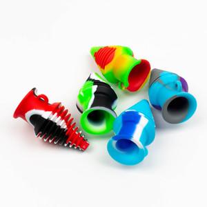 2020 Mais Novo Colorido Silicone Buckpeace Filtro Hookah Dicas para Vidro Bong Tubulação de Água Quartz Banger Tabaco Acessórios para Fumar