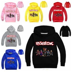 Printemps Automne Roblox Jeux Cartoon Sweats à capuche Sweat garçons Vêtements de sport chez les adolescentes Kid Fille Vêtements pour enfants T-shirt manches longues