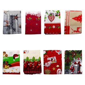 Christmas Printed Tablecloth Waterproof Oil-proof Table Covers Hotel Home for Household Unique Christmas Accessories