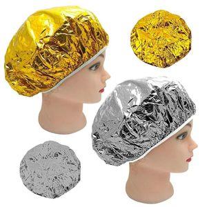 Aluminum Foil Waterproof Ultra-thin Bath Hoods Nourishing Dry Disposable Shower Cap Baking Oil Hair Disposable Aluminum Foil Shower Cap