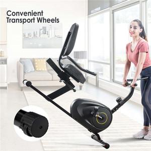 Multifuncional Peso Bancos Recumbent bicicleta de exercício com 8-nível de resistência, Bluetooth Monitor de 380lb Peso Capacidade US STOCK MS193107BAA