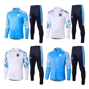 Olympique de Marsella chándal 2020 2021 POLO Marsella chaqueta de traje de entrenamiento de fútbol maillot de pie Balotelli PAYET THAUVIN OM Fútbol