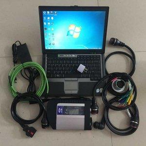 DHL 무료 배송 MB 스타 C4 다중 언어 진단 도구 + v2020.06 소프트웨어 SSD SD MB 스타 C4 + 노트북 D630 SD C4 진단