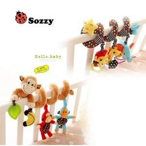 Baby Plush Toy Multifunctional music bed wrap Baby Bed Decoration Toy Accompany Baby Sleeping Monkey Plush