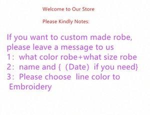 robes de conception de la personnalité Jrmissli personnalisés demoiselles d'honneur et un peignoir de mariage mariée pour les robes de soie des vêtements de nuit des femmes Y200425 V6qB #